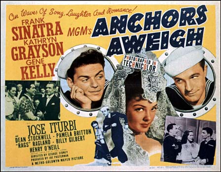 'Anchors Aweigh' 1945 film by slr1238