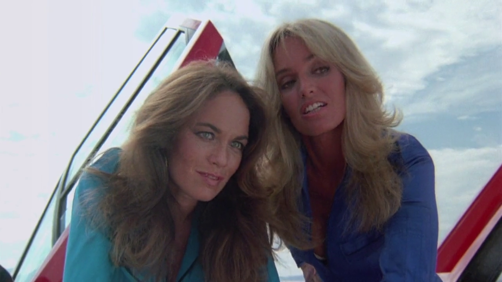 catherine bach susan anton 39 cannonball run 2 39 by slr1238 on deviantart. Black Bedroom Furniture Sets. Home Design Ideas