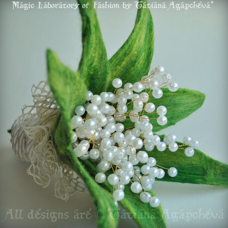 Lily Of The Valley Bouquet: LILY OF THE VALLEY Bouquet By TianaChe On DeviantArt
