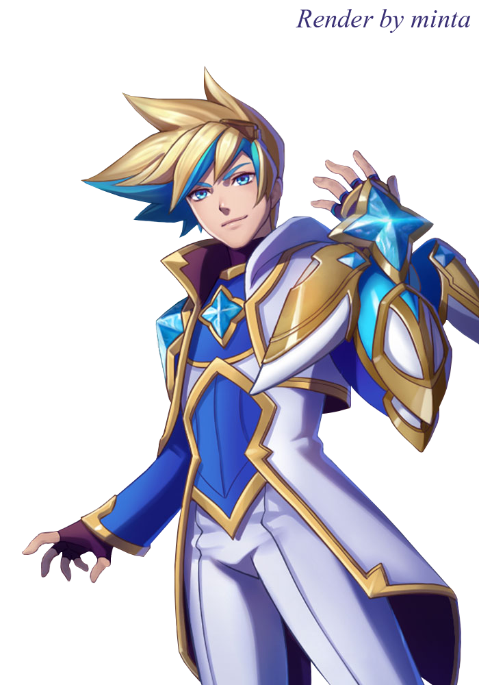 Star Guardian Ezreal Render by Minta369 on DeviantArt