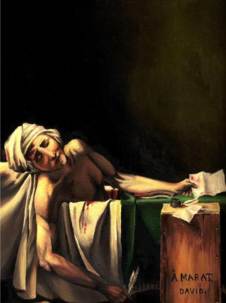 Death of Marat by Kyre on DeviantArt