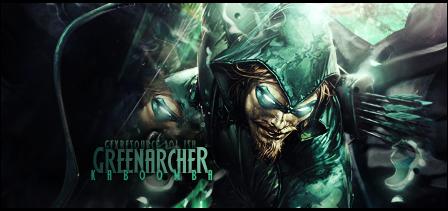 Green Archer by Rockanium
