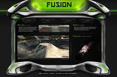 Fusion - Web template