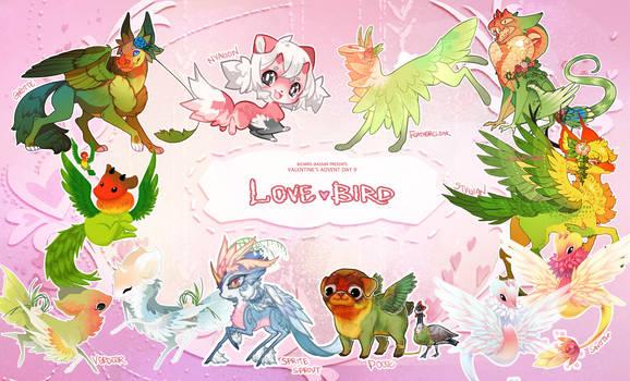 [Vday Advent] Day 9 - Love Birds by BizarreBazaarList