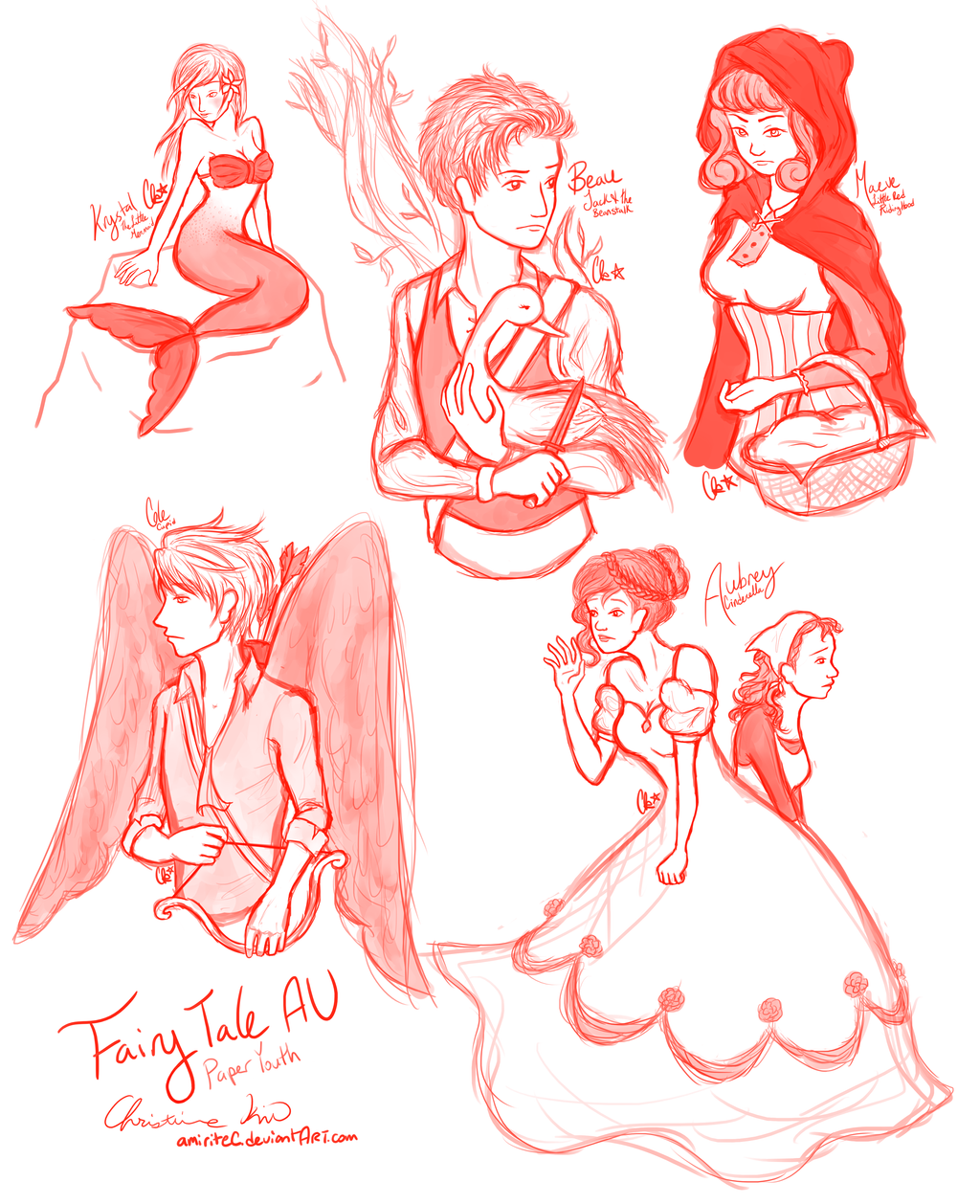 paper youth fairy tales au by amiritec on deviantart