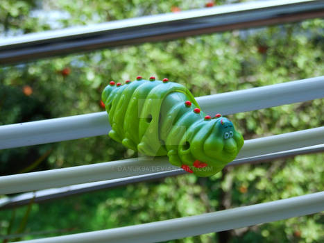 A Caterpillar toy
