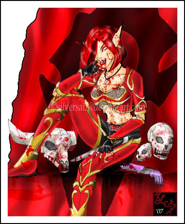 world of warcraft blood elf hunter. world of warcraft blood elf