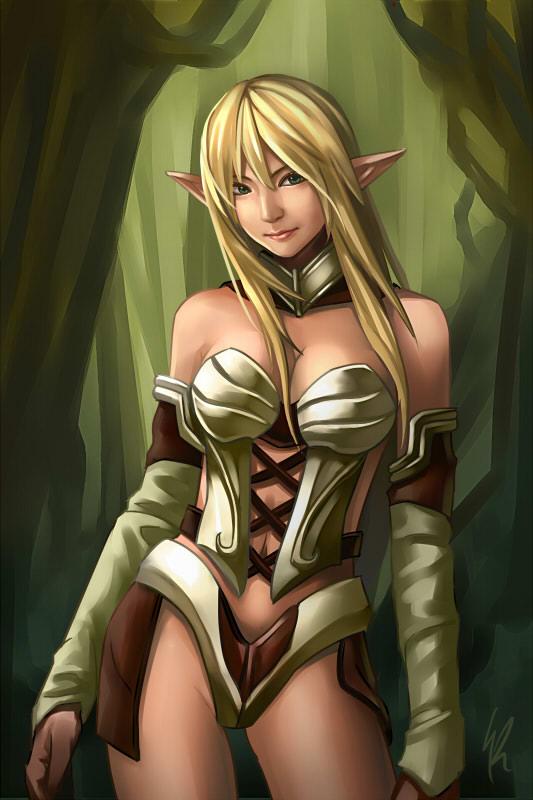 -+ Elf +- by Kaizeru
