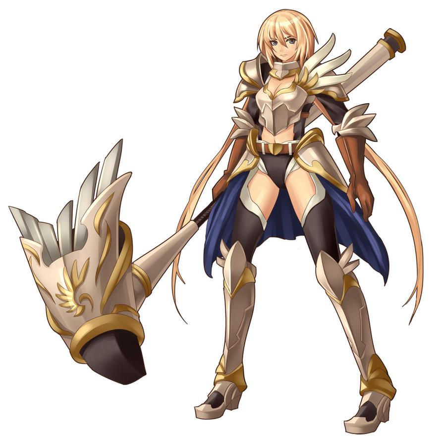 Warrior by kaizeru on deviantart - Anime female warrior ...