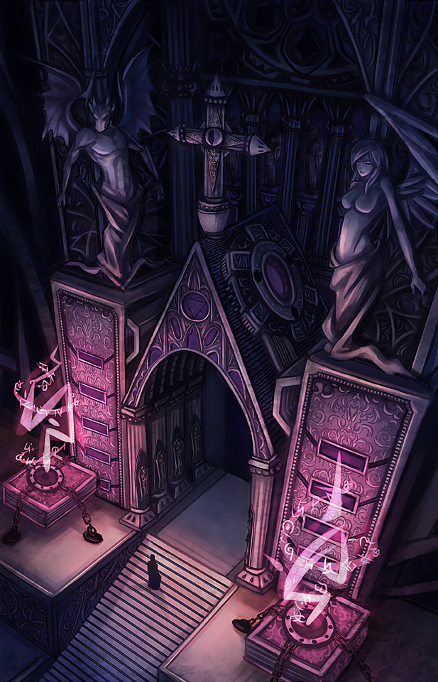 Arcueid Brunestud ~{Sugiura}~ ___cathedral____by_kaizeru-d3ct64v
