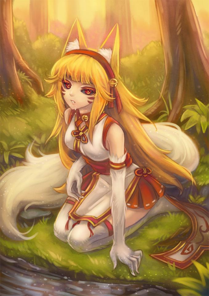 Inari by Kaizeru