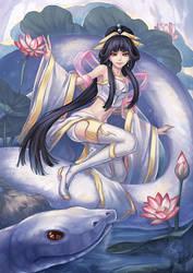 Lady White Snake by Kaizeru