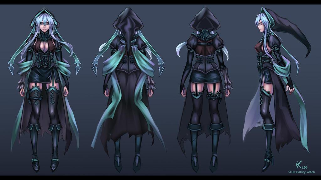 Skull Harley - char sheet by Kaizeru