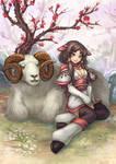 Gentle Sheep Child