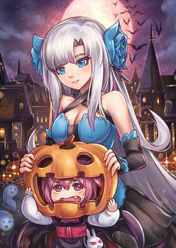 -+ Happy Halloween +-
