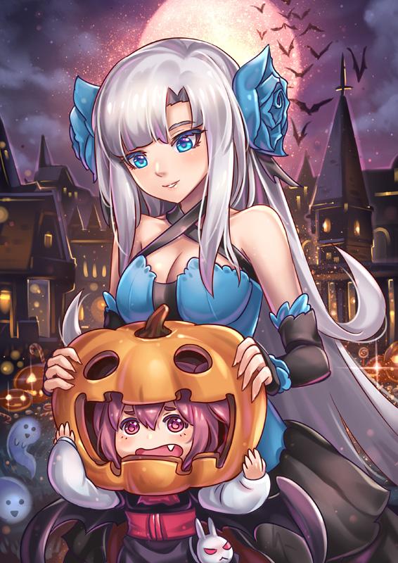 -+ Happy Halloween +- by Kaizeru