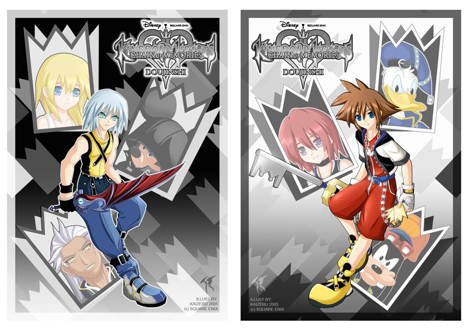 Kingdom Hearts COM by Kaizeru