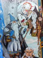 Gandalf and the Istari Wizards by whittingtonrhett