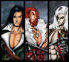 Mirror of Fate Characters by whittingtonrhett