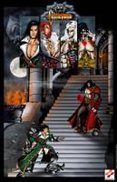 Castlevania Mirror of Fate Poster by whittingtonrhett