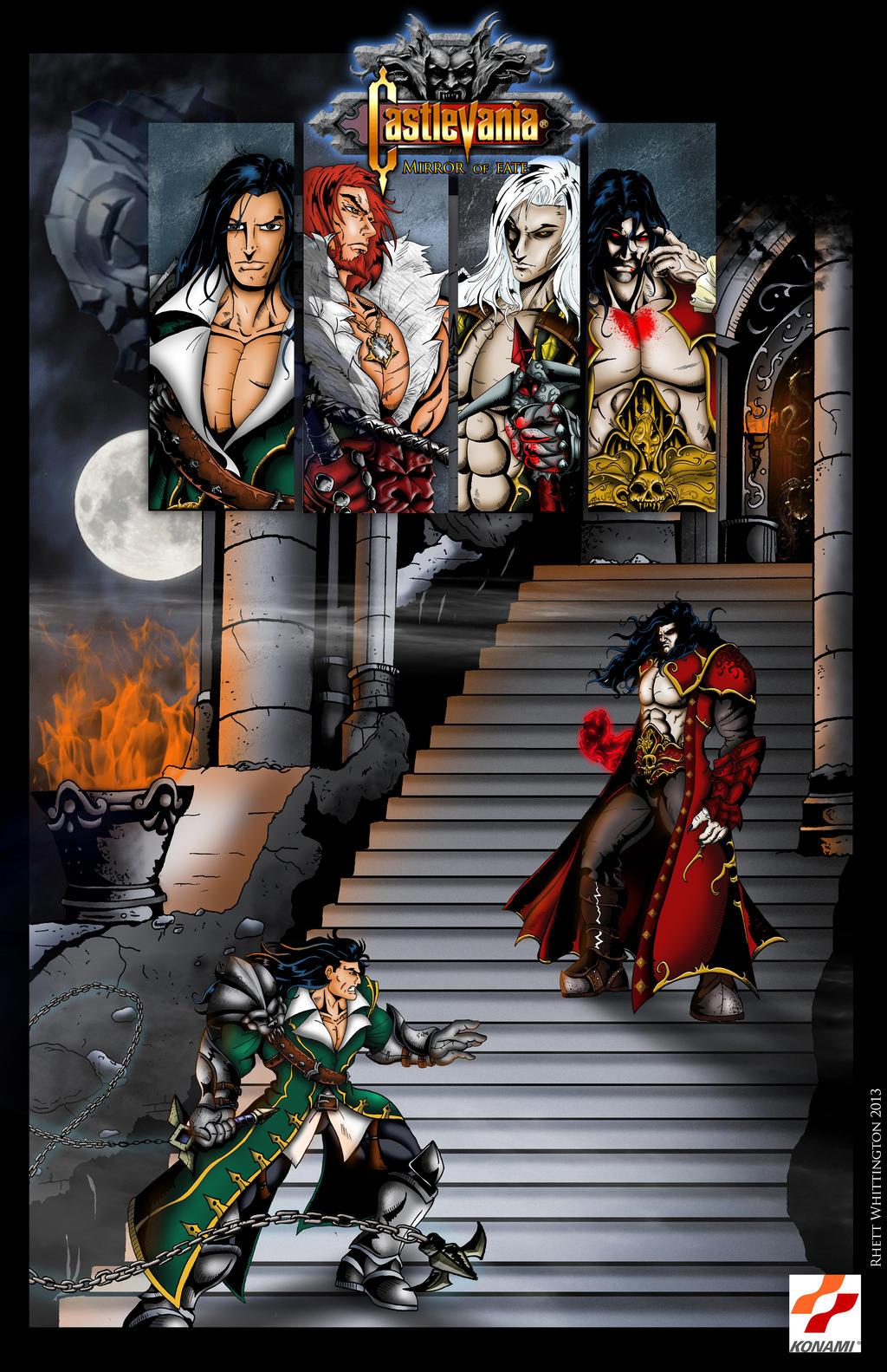 Castlevania Mirror Of Fate Poster By Whittingtonrhett On