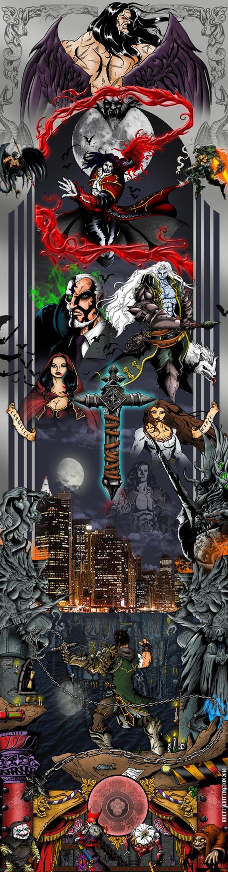 Castlevania Lords of Shadow 2 poster by whittingtonrhett