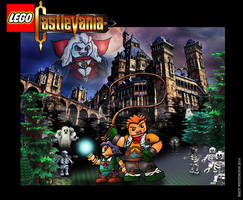 Lego Castlevania pic by whittingtonrhett