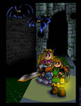 Link to the Past Sewer Escape
