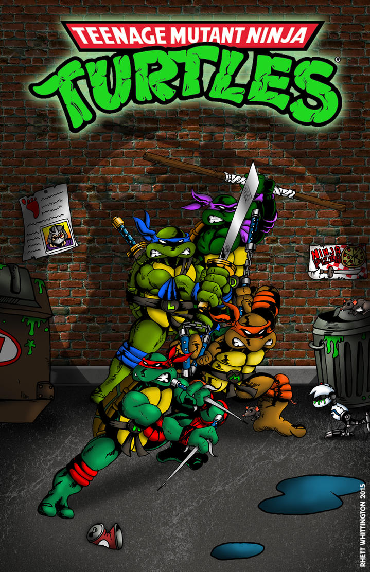 Ninja Turtles Poster by whittingtonrhett on DeviantArt