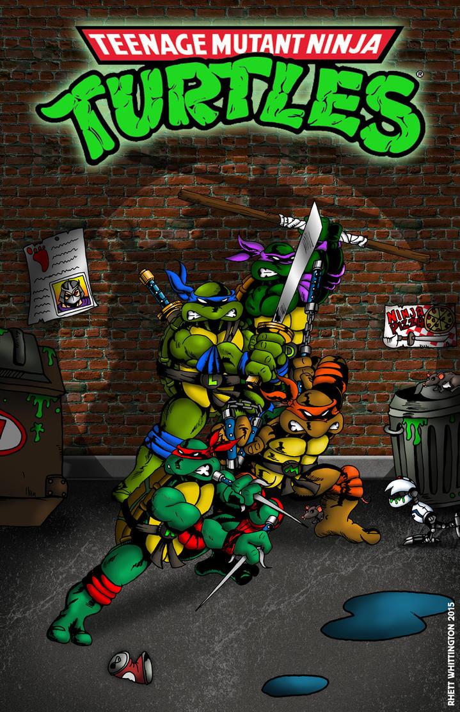 Ninja Turtles Poster by whittingtonrhett on DeviantArt