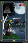 Ocarina of Time Lake Hylia Poster