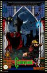 Castlevania NES Poster