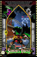 Castlevania 2 Simon's Quest Poster by whittingtonrhett