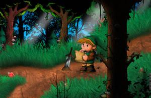 Link in the Forest by whittingtonrhett