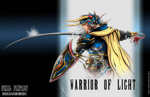 Warrior of Light by whittingtonrhett