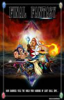 Final Fantasy Poster by whittingtonrhett