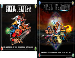 Final Fantasy Poster Comparison by whittingtonrhett