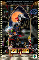 Castlevania 64 OFFICIAL Poster by whittingtonrhett