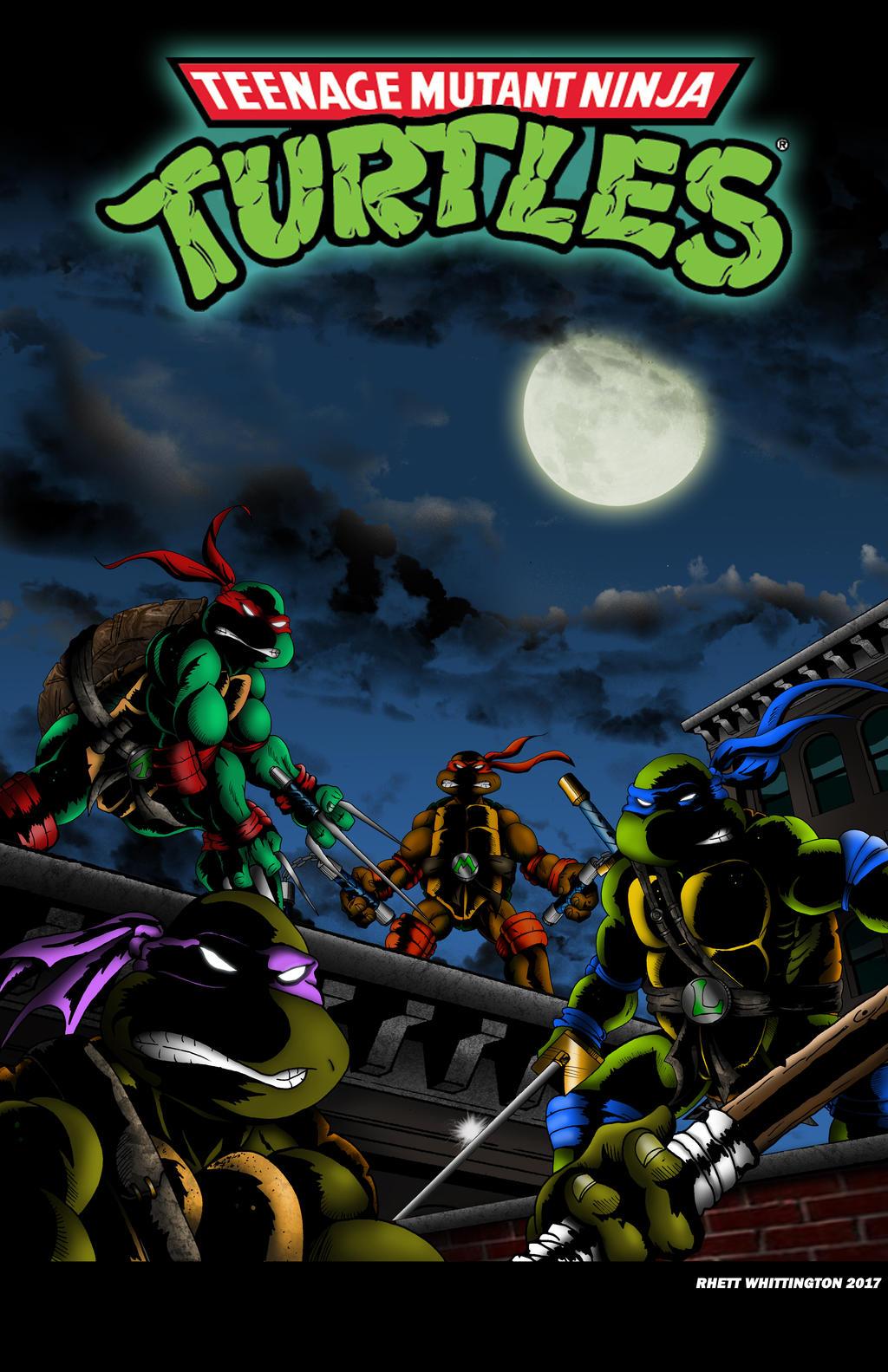 Teenage Mutant Ninja Turtles Cartoon Intro Poster by ...