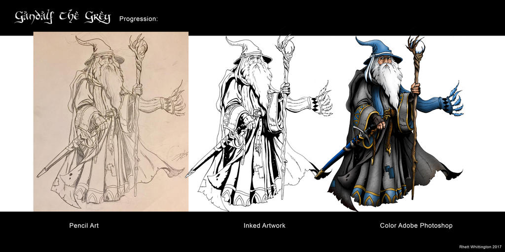 Gandalf Progression