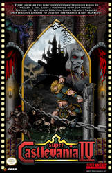 Super Castlevania 4 Official Poster by whittingtonrhett