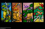 Turtles Arcade Game Character Select by whittingtonrhett