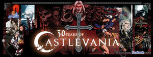 Castlevania 30th Anniversary Cover Photo