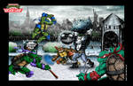 Turtles 2 Snow Level Official Poster