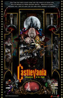 Castlevania Symphony of the Night by whittingtonrhett