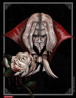 Castlevania Symphony of the Night Dracula by whittingtonrhett