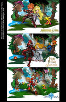 all 3 Mana Versions by whittingtonrhett