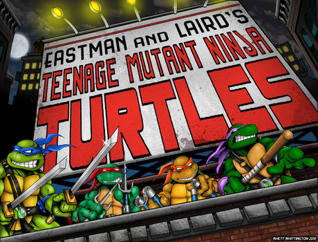 Ninja Turtles Billboard Poster