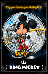 King Mickey by whittingtonrhett