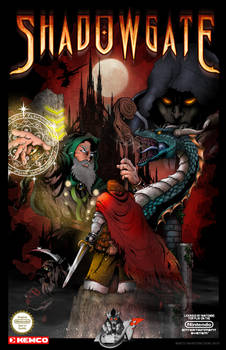 Official Shadowgate Poster